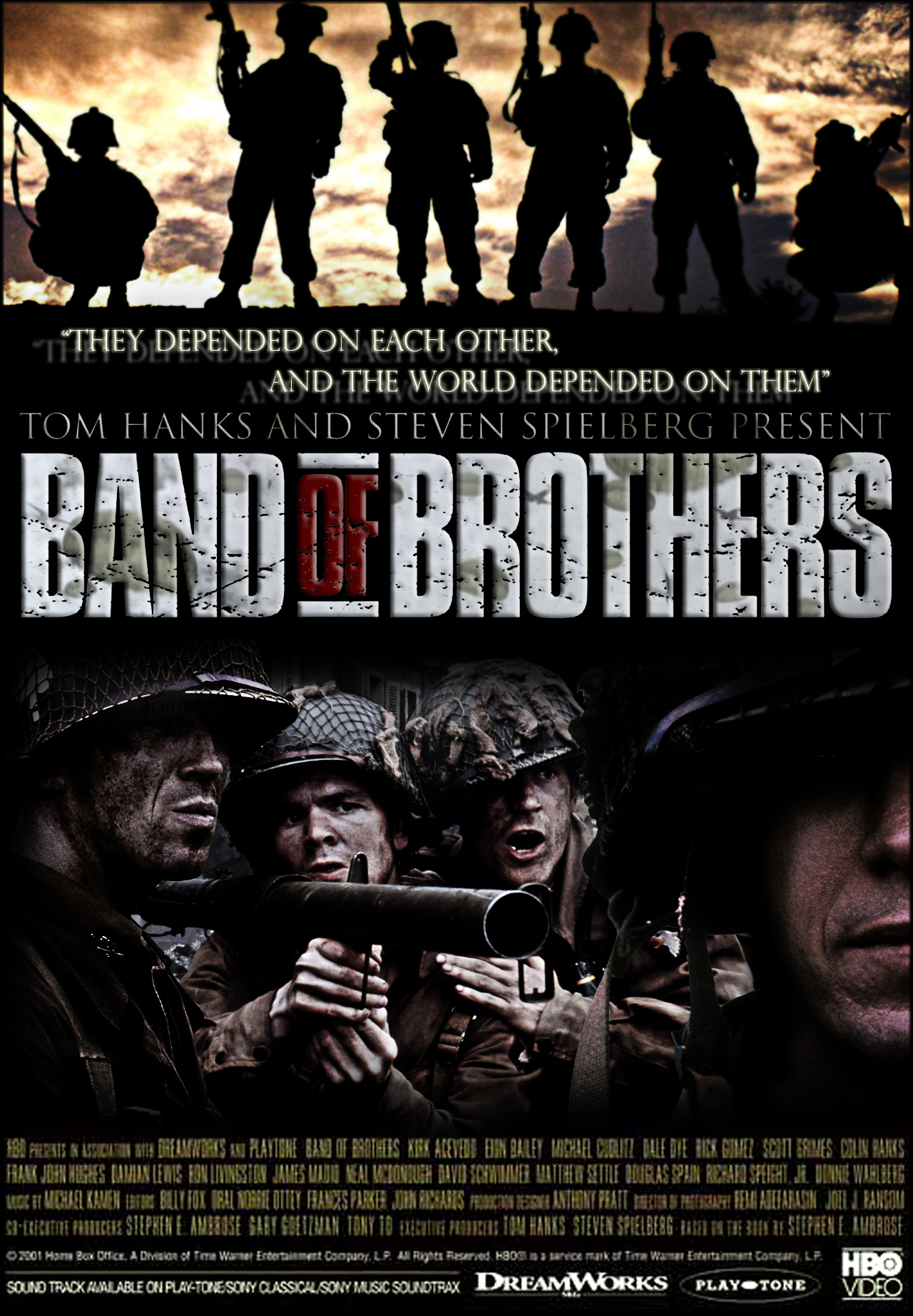 Band of Brothers Plakát terv